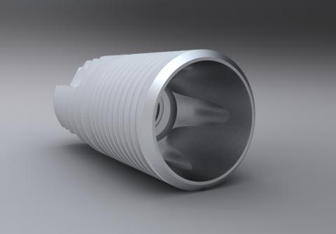 Abbildung: CPM Precision GmbH Implantat